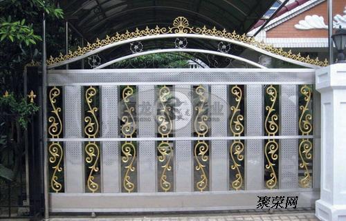 供应汕头纯铝铸造别墅庭院门