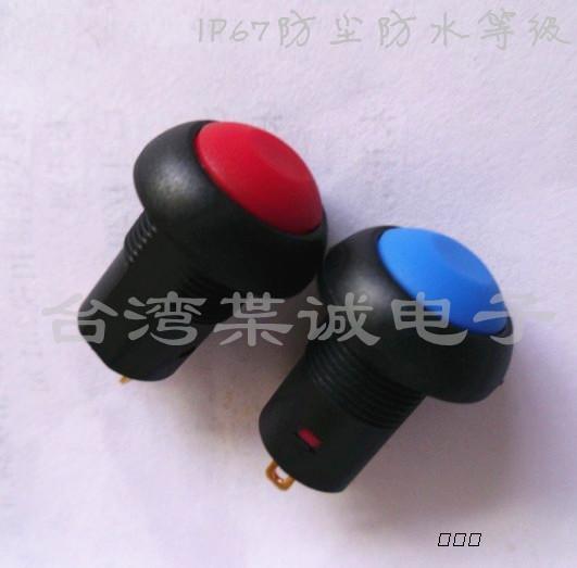 广东自锁防水按钮开关