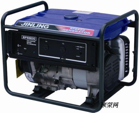 5kw家用汽油发电机不能启动和启动困难如果将油路,电路开关置于启动