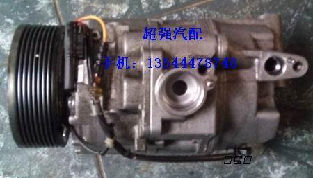 供应宝马x6空调压缩机,起动机,减震器,电子扇,原厂件