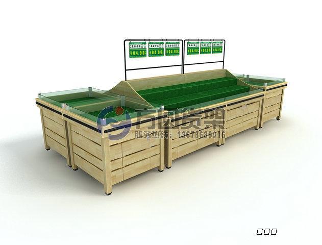 超市干货架 木制干货架