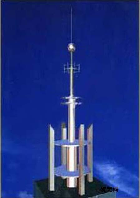 供应楼房白钢装饰铁塔