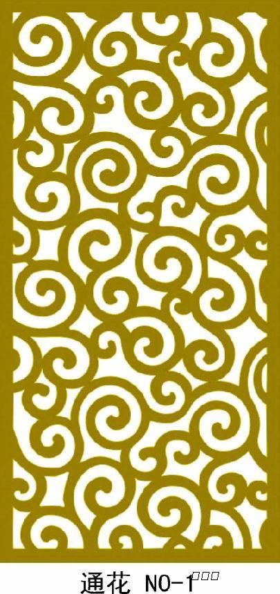 (3)产品花纹:威禾有300多种花纹图案供客户选择