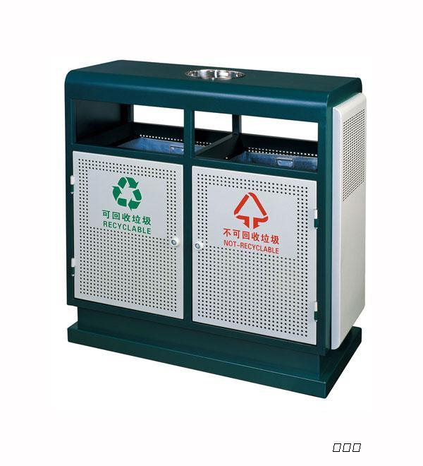 湖南户外环保垃圾桶制作价格&湖北公园果皮桶批发厂家图片