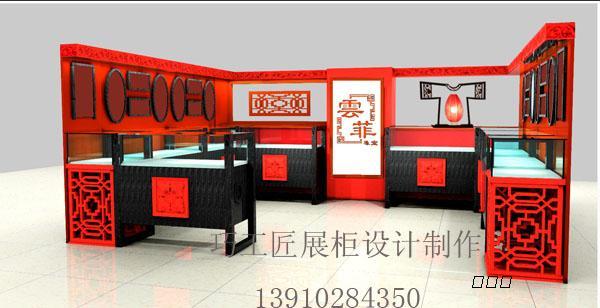 商场展柜设计_聚荣网