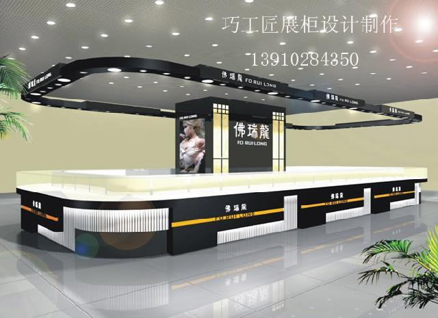 主要设计制作黄金珠宝精品柜台,化妆品形象展柜,电子卖场