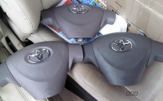 丰田花冠气囊 方向盘 空调面板 出风口 前杠 机盖 原装拆车