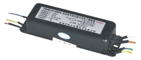 yk40-2dfl型高效节能荧光灯防爆电子镇流器(一拖二)    yk40
