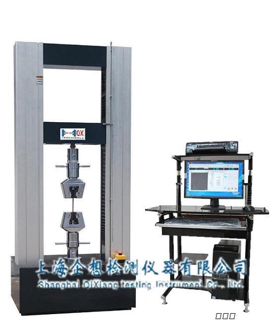 一、钢筋拉力试验机就是对材料.零件.构件进行力学性能和工艺性能试验的仪器和设备,又称力学性能试验机。 1.按对象可分为金属与非金属材料试验机 2.按试验时间可分为长时与短时试验机 3.按试验温度可分为高温.常温.低温试验机 4.按试样的受力状态和试验力的施加速度可分为静态力和动态力试验机 5.