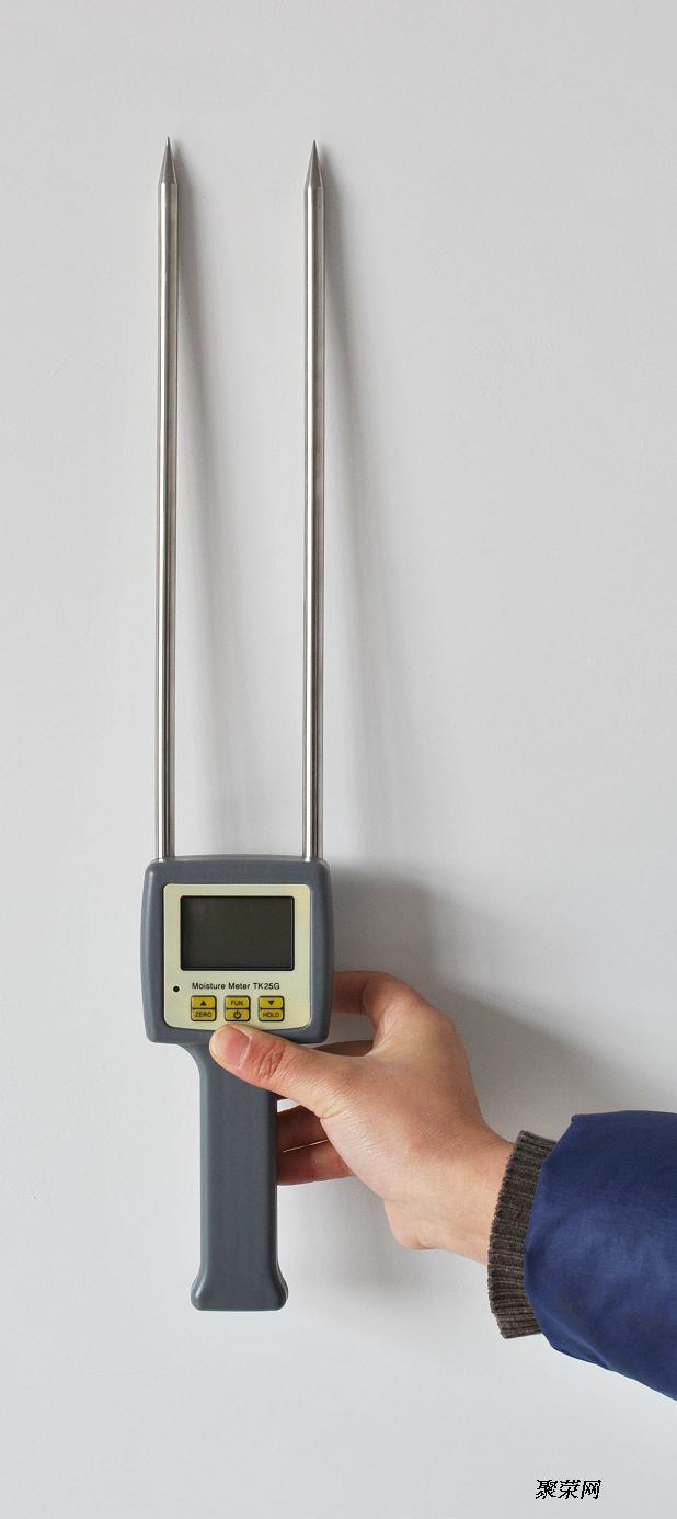 手机验证粮食水分测定仪 咖啡豆水分测定仪tk25g图片