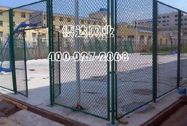 武汉体育护栏 学校操场护栏 运动场护栏规格 篮球场护栏