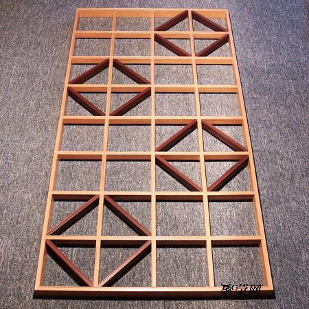 生态木方木隔断,生态木方木幕墙,生态木方木贴图