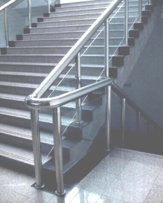 青岛不锈钢加工不锈钢货架加工不锈钢楼梯扶手制作安装