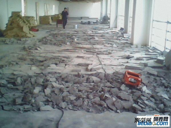 北京室内地砖水泥地面拆除公司