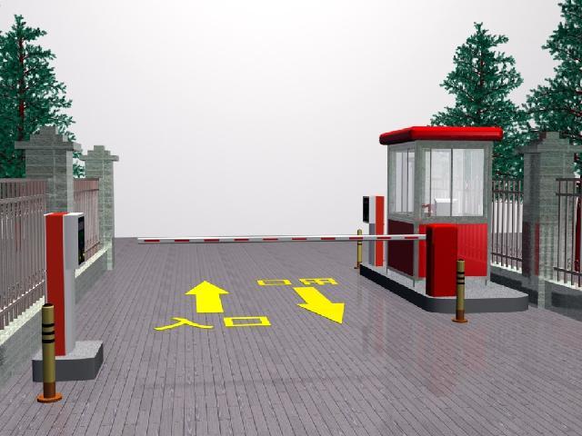 上海永顺专业定做安装停车场,小区专用道闸