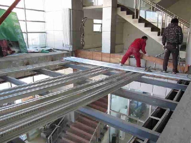 建筑建材 钢结构           北京阁楼夹层设计施工,钢结构阁楼,阁楼