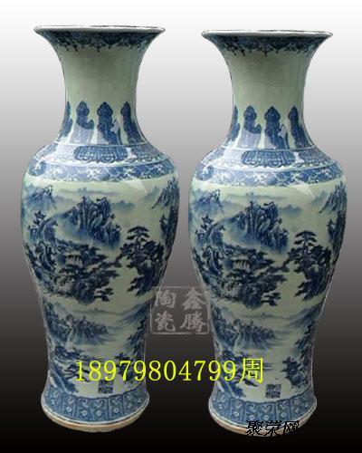 景德镇陶瓷大花瓶为商务礼品瓷器