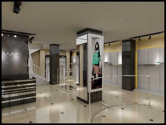 郑州风格展柜厂,郑州展柜设计制作,郑州服装展柜 郑州风格展柜设计
