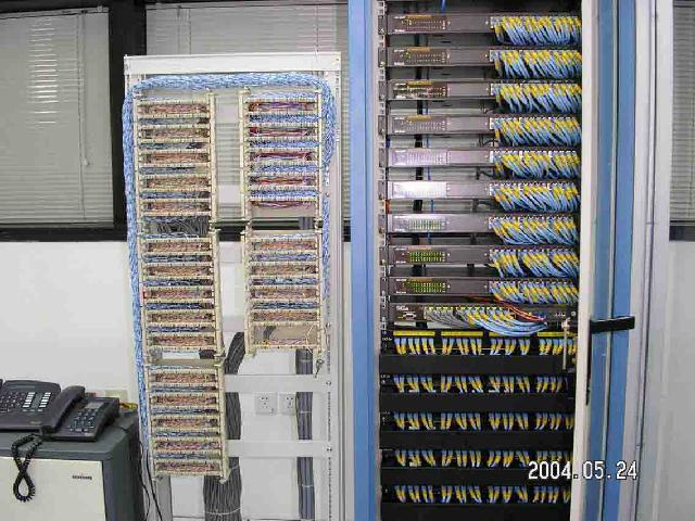 装修弱电机房工程商 网络和电话集中布线