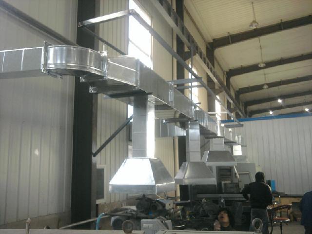 昌平通风管道加工厨房排烟管道设计加工风机维修销售