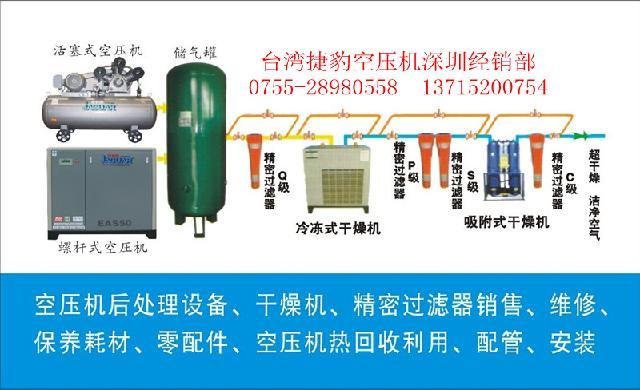 空压机油气桶内部结构图