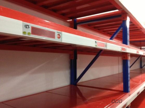 供应库房管理系统 库房货架标签 电子拣货标签分拣系统