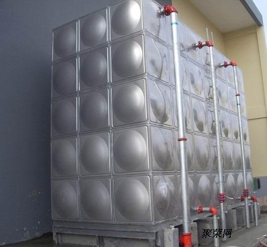 杭州水箱厂 不锈钢圆水箱