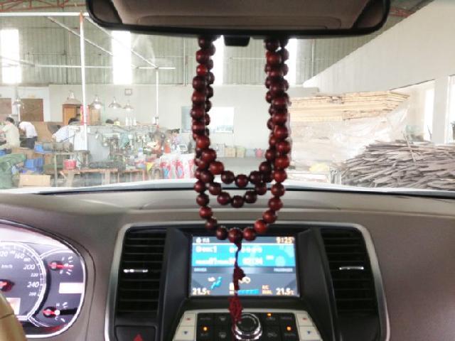 红酸枝汽车挂饰 汽车用品 车内装饰品