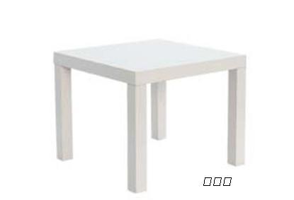 欧式白色沙滩桌子