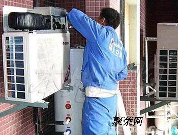 广州海尔空调维修公司.越秀空调加雪种