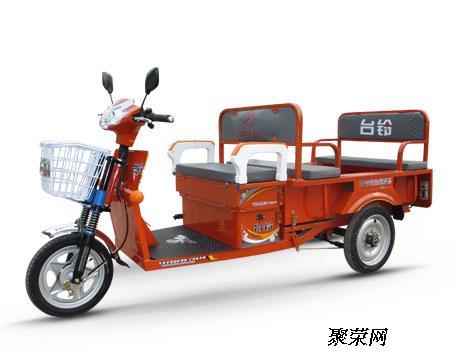 供应台铃铃福二代电动三轮车厂家直销价格