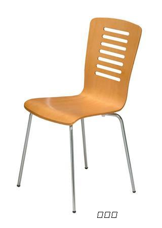 真功夫钢木椅,快餐店椅子