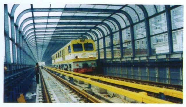 声屏障材料主要用于高速铁路