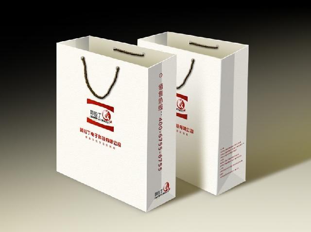 结构包装手提袋