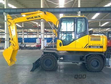 100型高品质轮挖 沃尔华液压挖掘机厂家销售图片