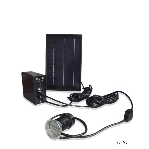 家用小型照明太阳能发电系统