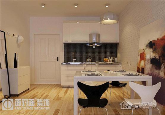 南昌室内设计-单身公寓-奥克斯盛世经典-现代简约