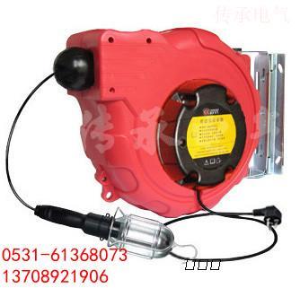 伸缩端带有手柄的工作灯罩,输入电压是220v,输出电压是36v,可接60w